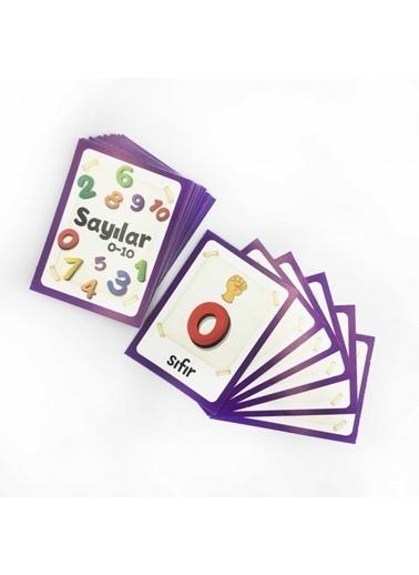 Artikel Sayılar Eşleştirme Hafıza Kart Oyunu Renkli